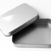 Jabonera de aluminio